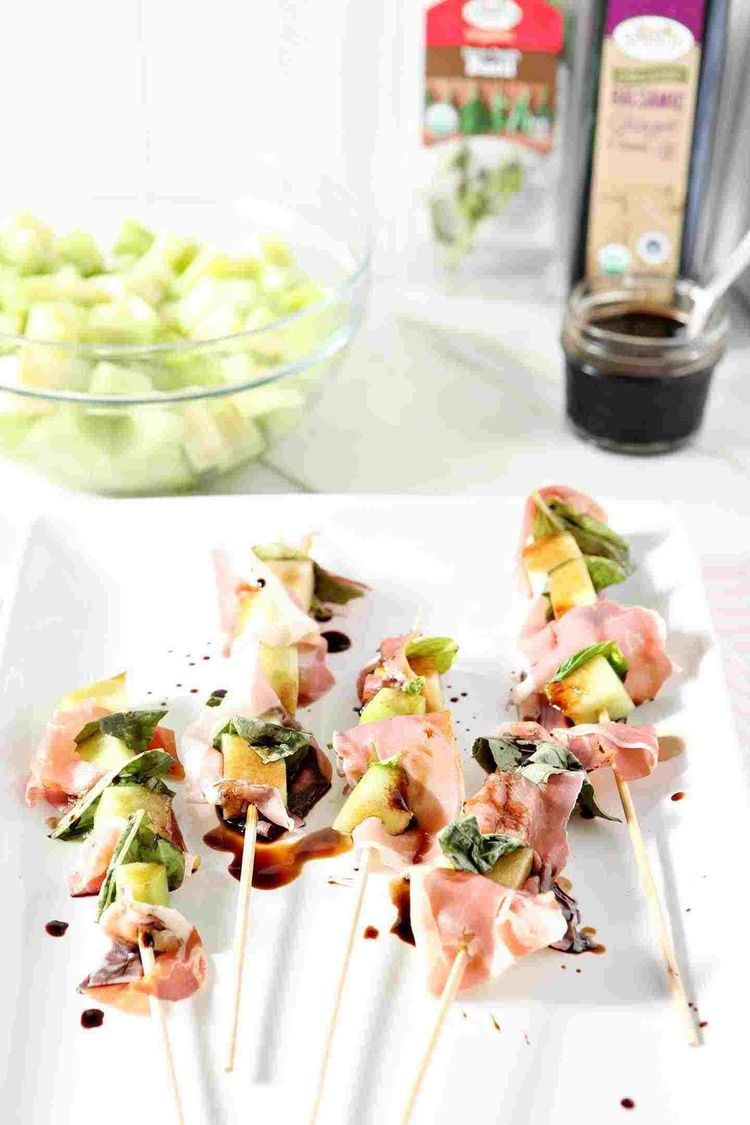 The Speckled Palate Whole30 Galia Melon Skewers 007