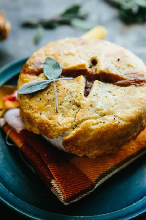 Turkey Pot Pies With Bacon Caramelized Onions Butternut Squash 7 768X1152