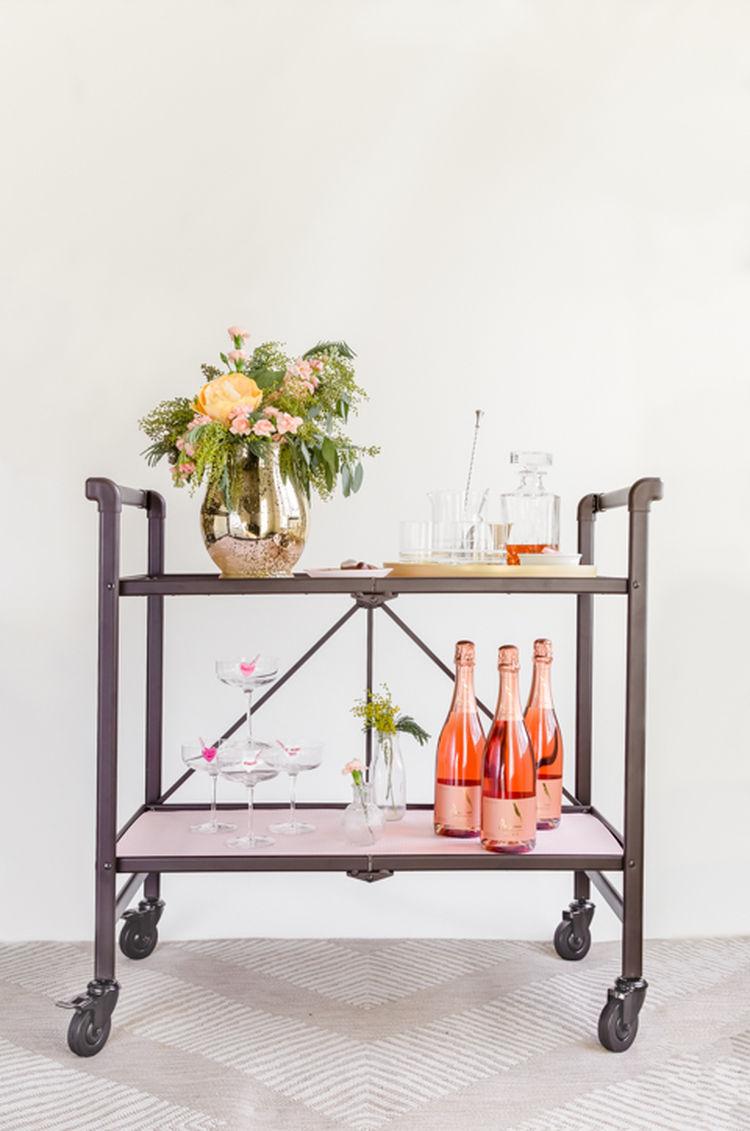 Valentine S Day Bar Cart 1