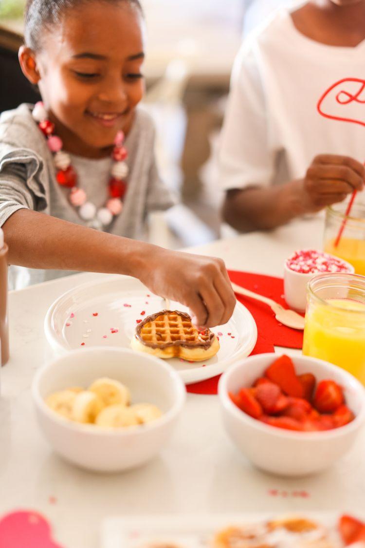 Valentines Heart Shaped Waffles Just Destiny 26 Resize