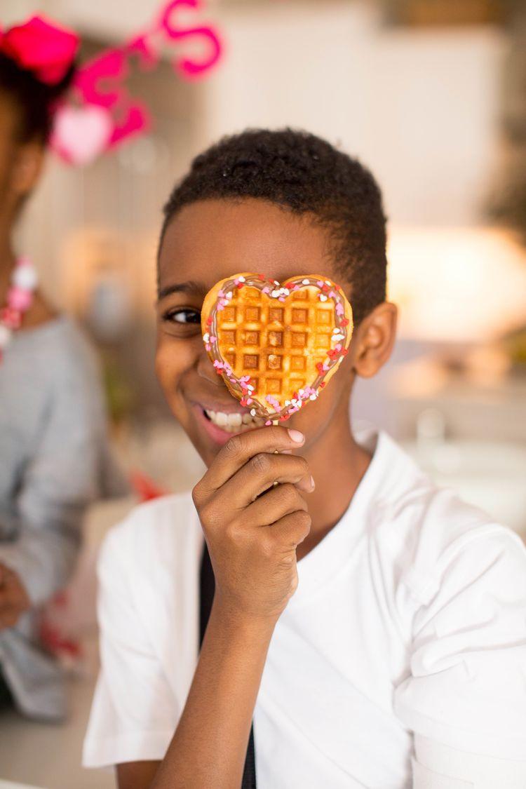 Valentines Heart Shaped Waffles Just Destiny 35 Resize