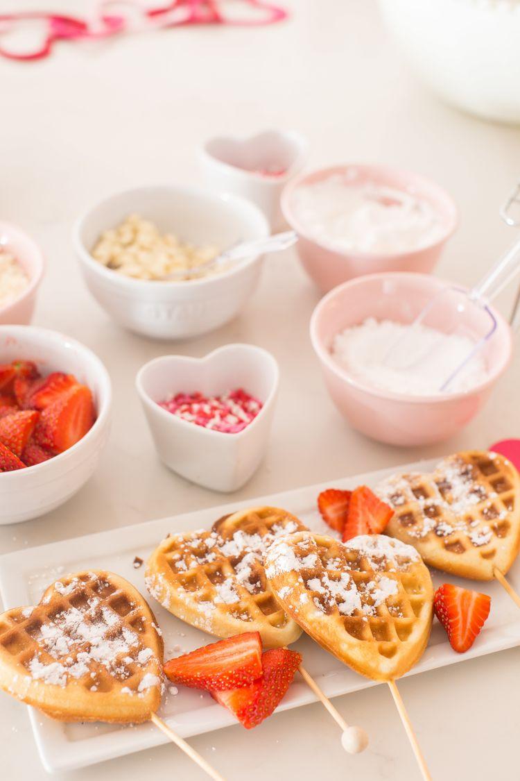 Valentines Heart Shaped Waffles Just Destiny 9 Resize