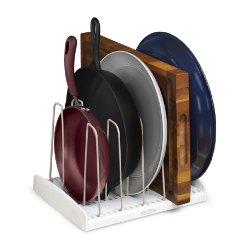 You Copia Store More Adjustable Cookware Rack