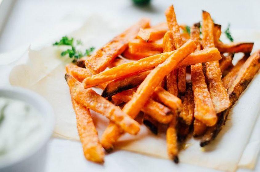 Baked Sweet Potato Fries 9 Crop