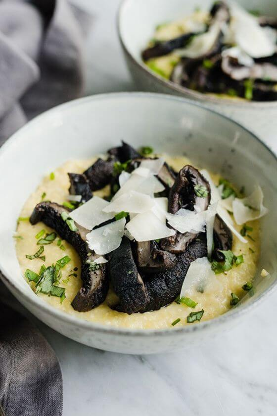 Charcoal Grilled Portobello Mushrooms Whole Food Recipes 5