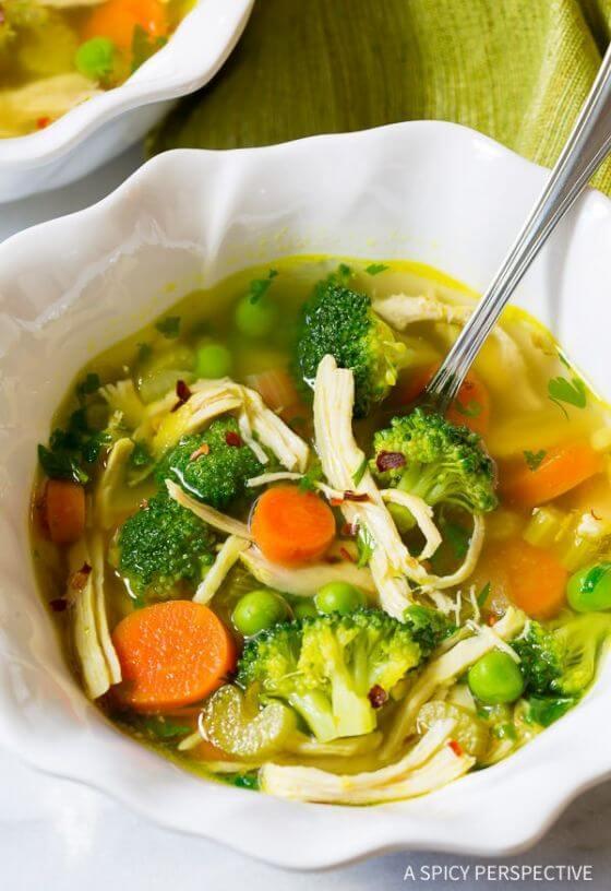 Chicken Detox Soup 7
