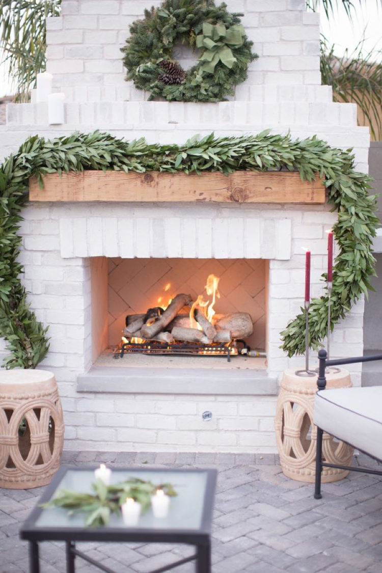 How Warm Weather Dwellers Do Winter Outdoor Entertaining
