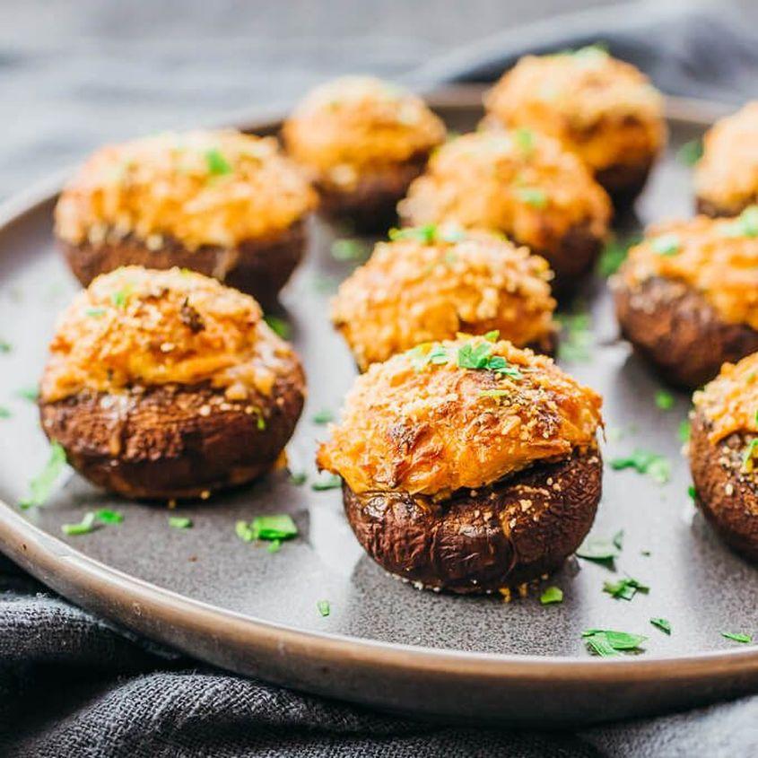 Crab Stuffed Mushrooms 4