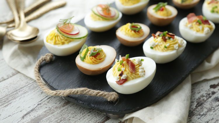 how to cook deviled eggs video