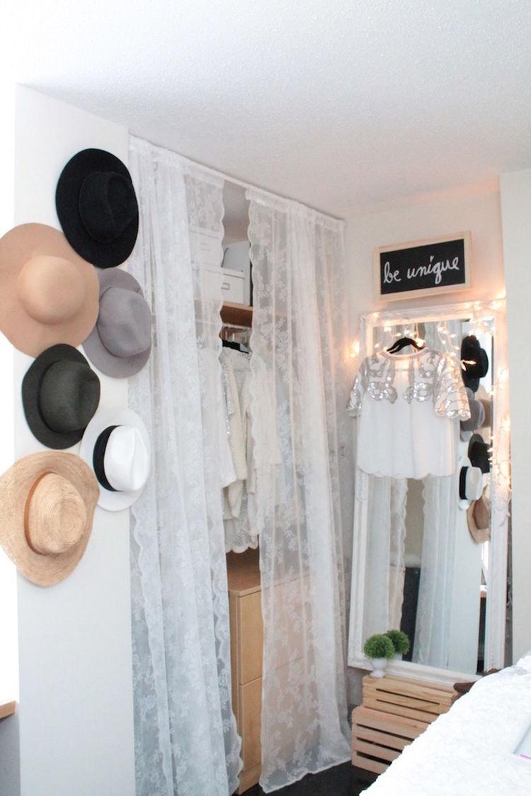 Dorm Closet Diy Inspired Home