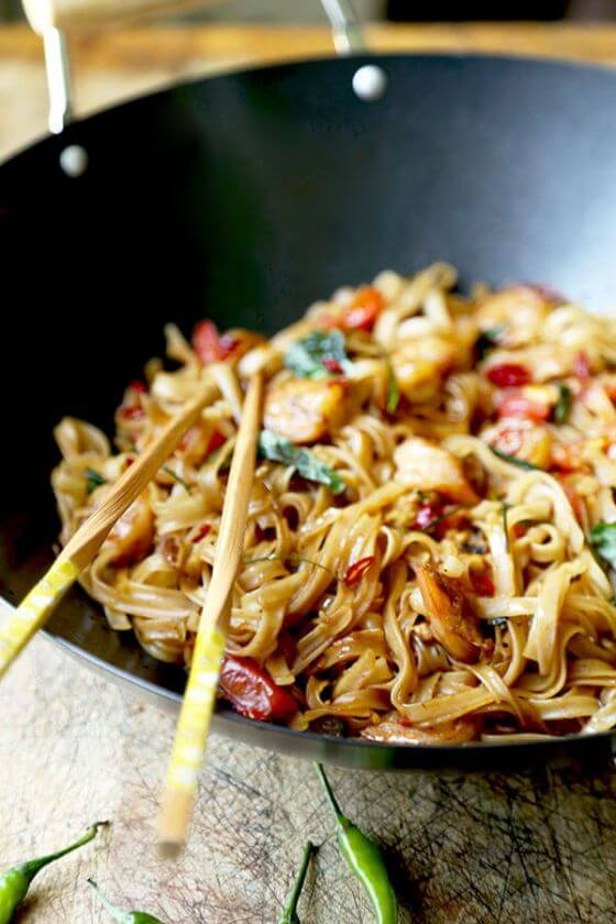 Drunken Noodles Pad Kee Mao 2 Optm