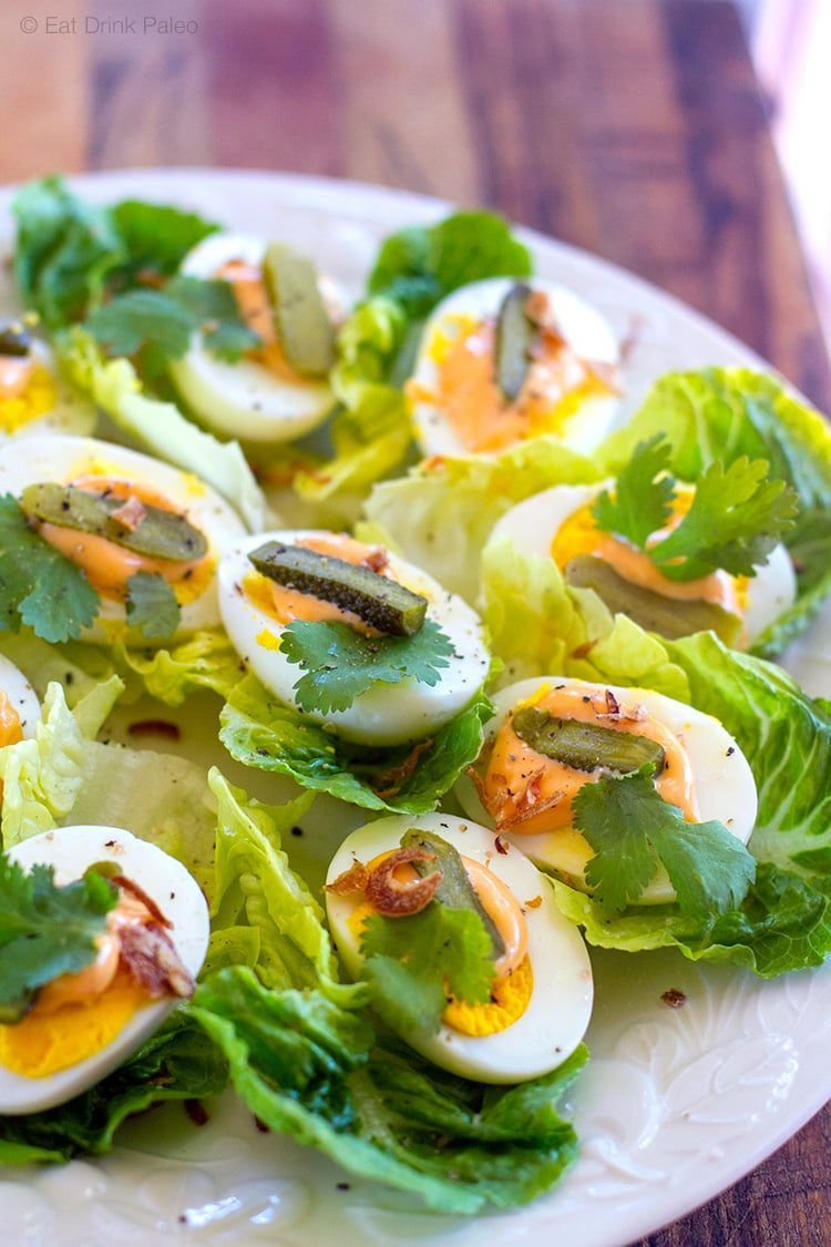 Egg Lettuce Cups With Mayo 2