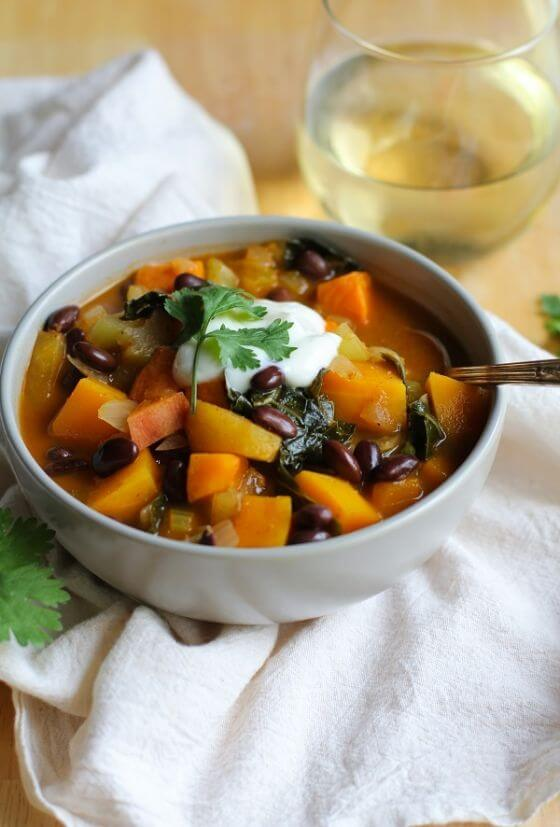 Fall Harvest Vegetarian Chili 3
