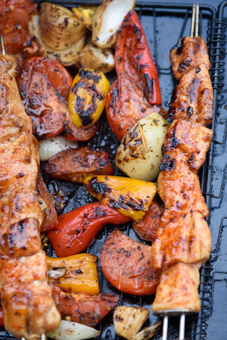 Finished Kebabs