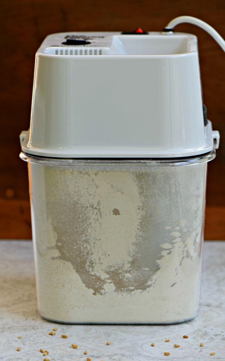 Flour Blendtec Grinding
