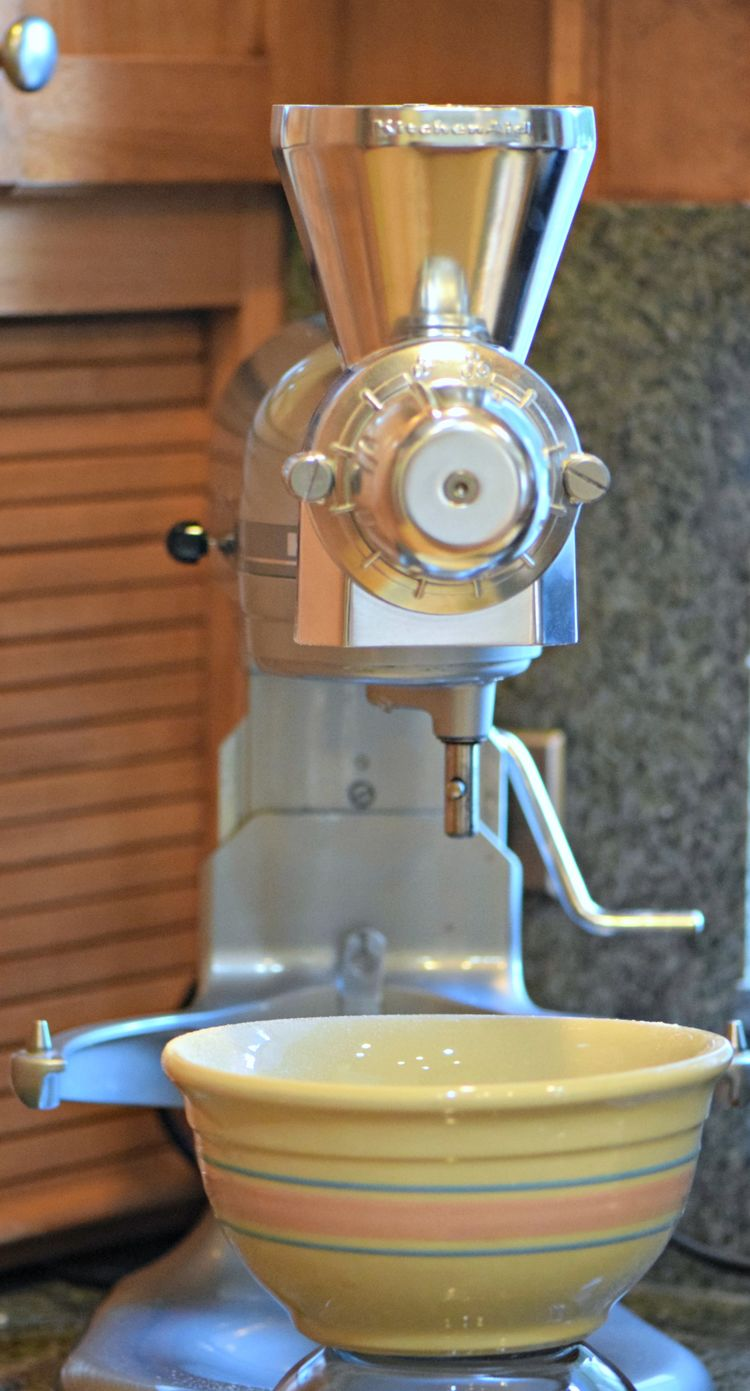 Flour Kitchenaid Vertical