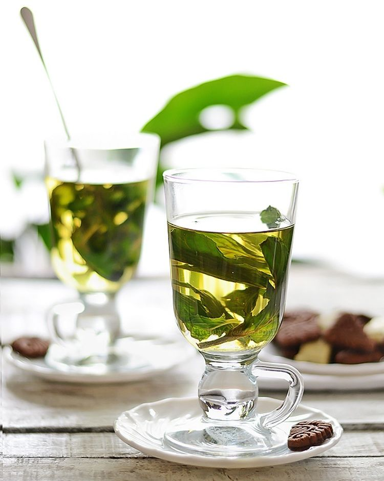 Fresh Mint Tea1 W