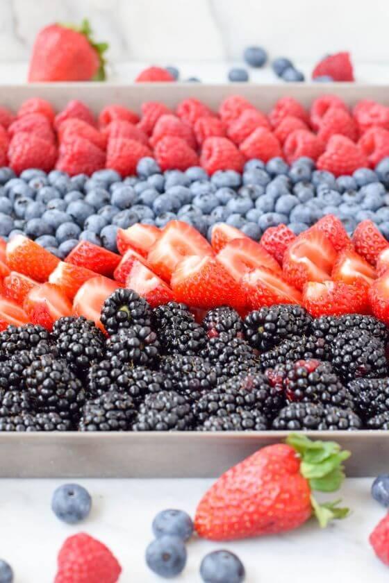 Frozen Berries Tray