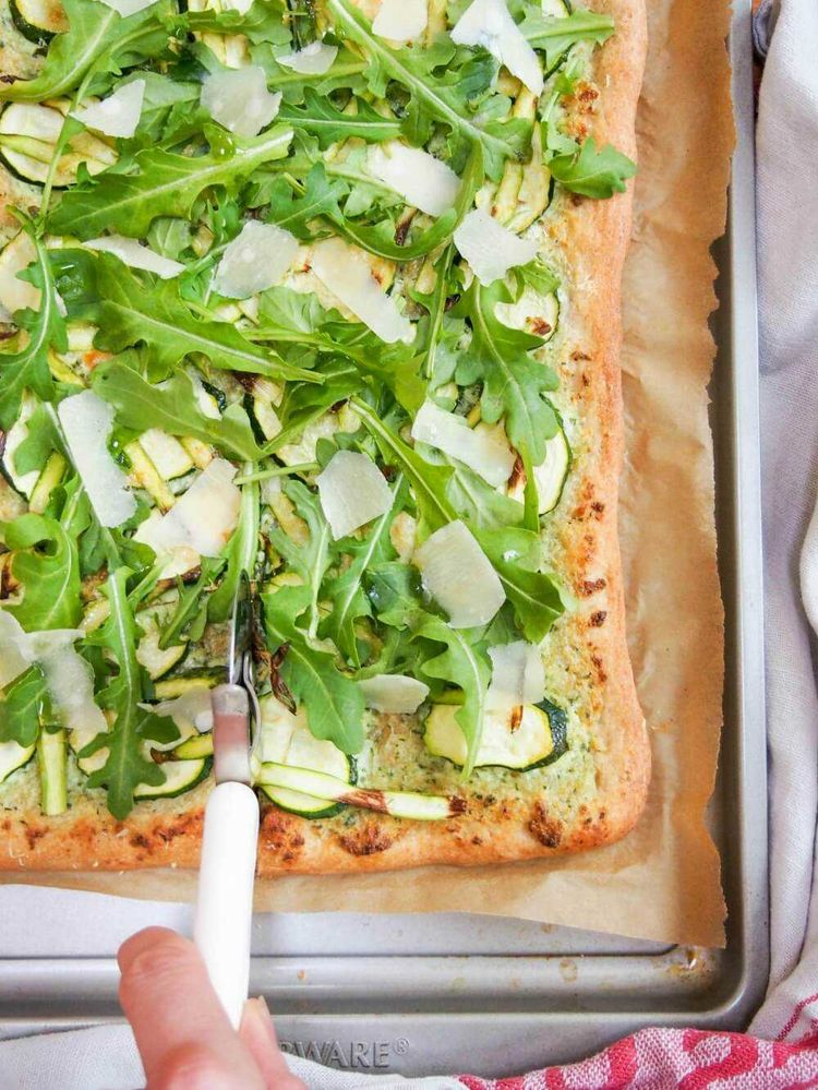 Green Pizza Picture