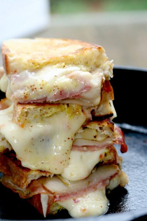 Habanero Jack Grilled Cheese