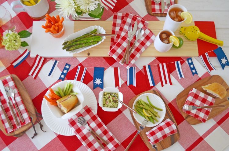 Inspiration for Your Memorial Day Party