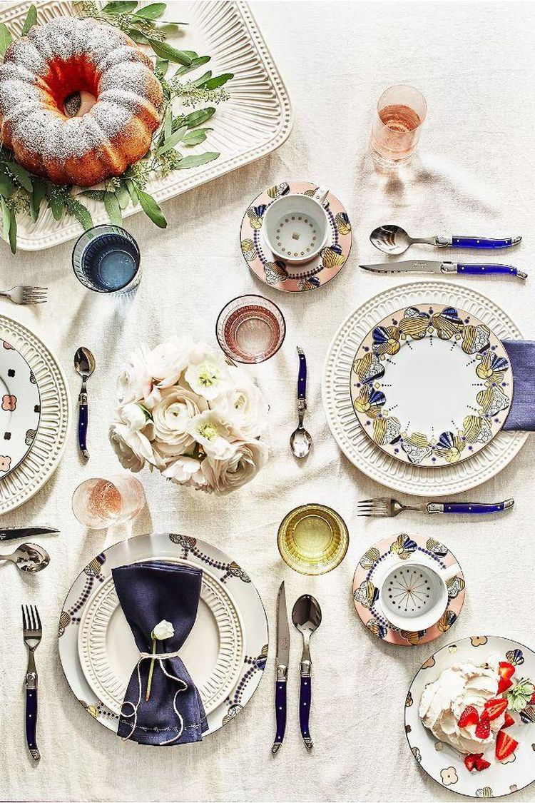 How To Entertain Like A French Girl Dinnerware Inspired Home