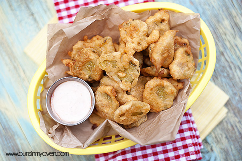 How To Fry Pickles