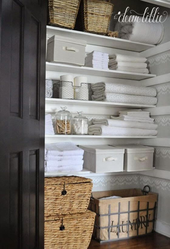 Organize Your Linen Closet Part - 45: How To Organize Your Linen Closet Inspired Home 11