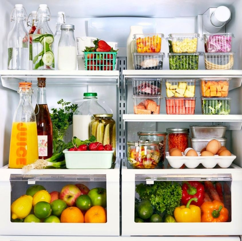 How To Organize Your Refrigerator Lunches Inspired Home