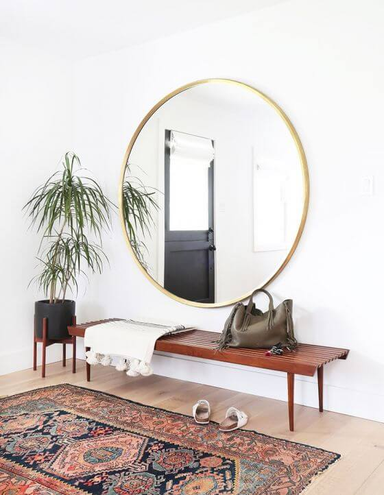Inspired Home Entryway Mirror
