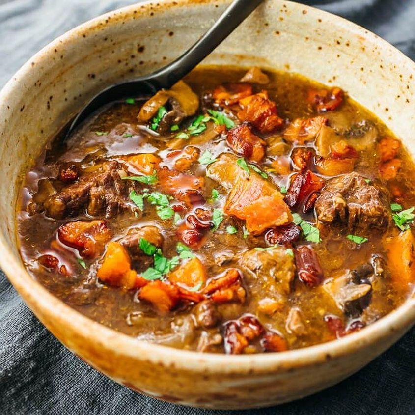 Instant Pot Beef Bourguignon 11