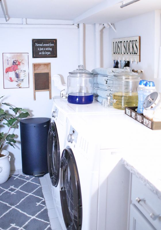 Laundry Room Design Ideas | Lindsay Parisi | The Inspired Home