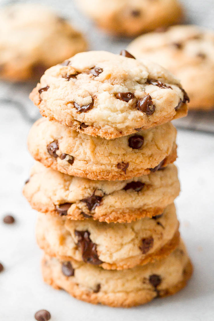 Low Carb Keto Chocolate Chips Cookies