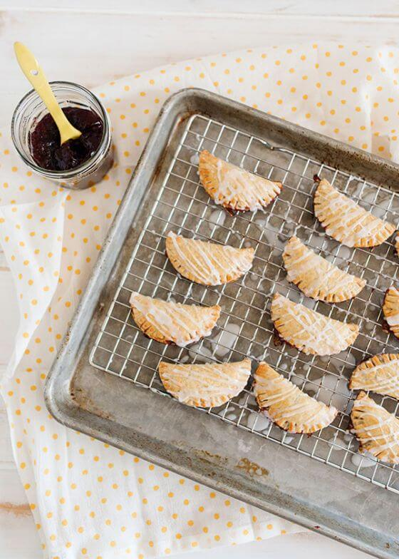 Mini Cherry Almond Hand Pies 3