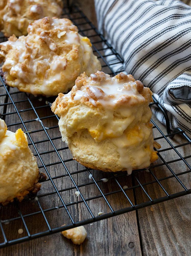 Peach Crisp Biscuits 7 1