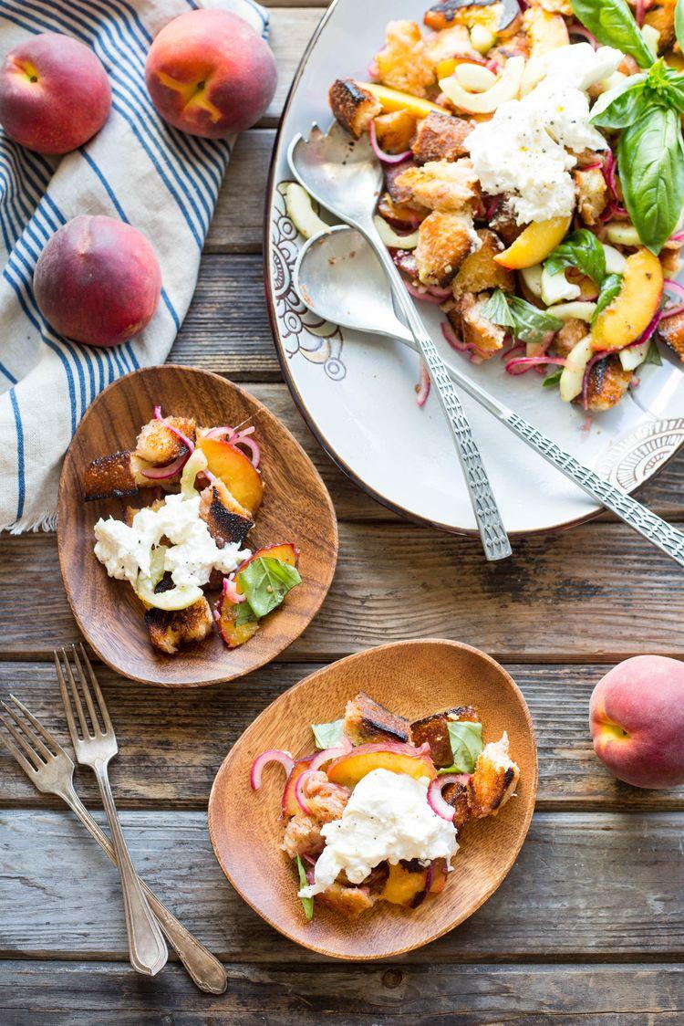 Peach Panzanella 8