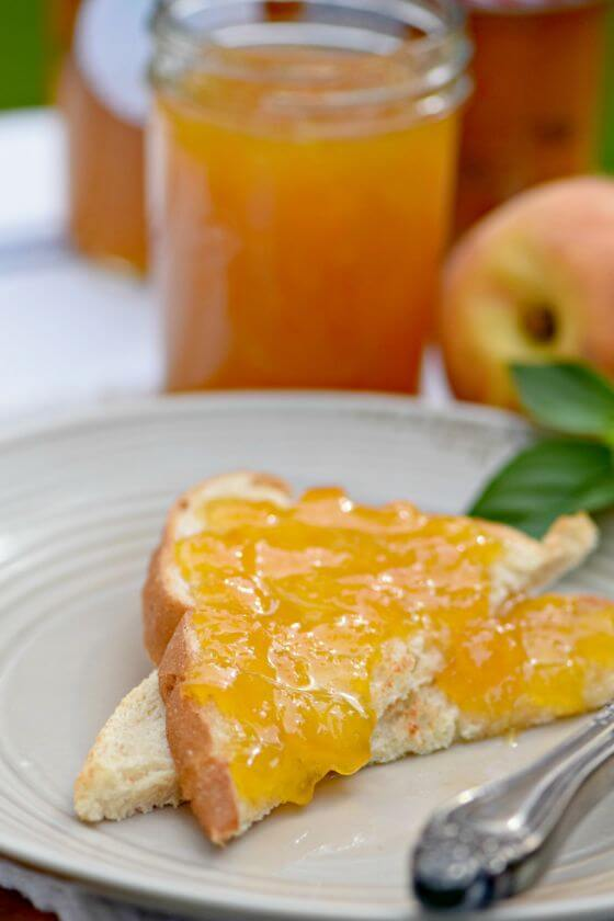 Peaches Toast Jam