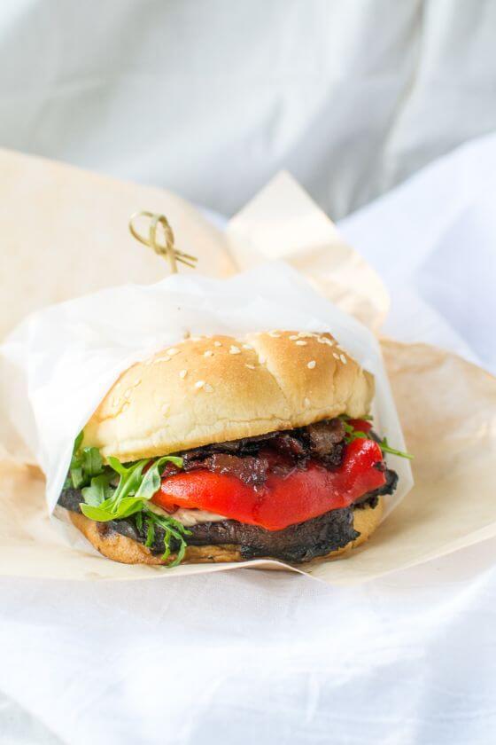 Portobello Burgers With Bacon Jam Appetites Anonymous 3