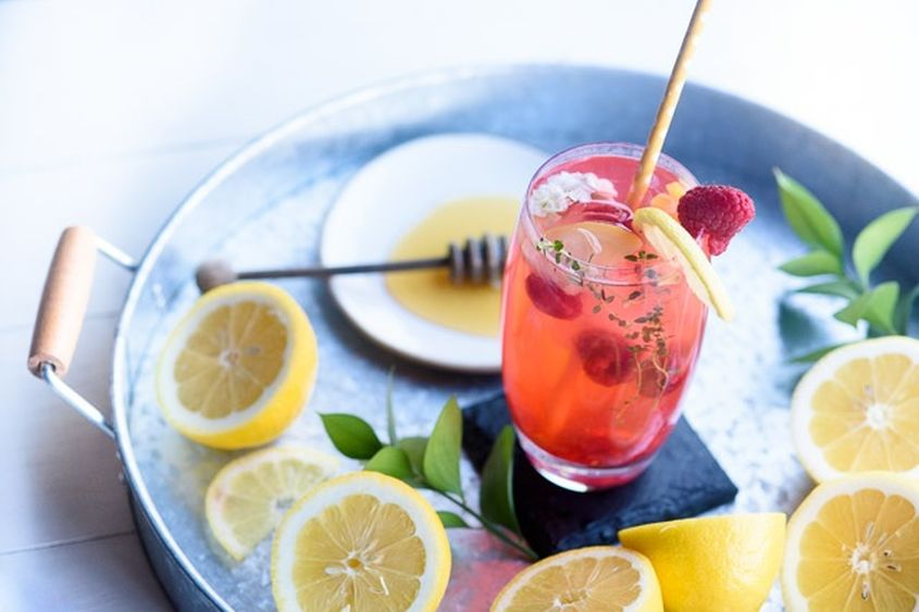 Raspberry Lemon Drop Martini Recipe