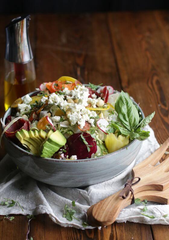Raw Veg Salad 2