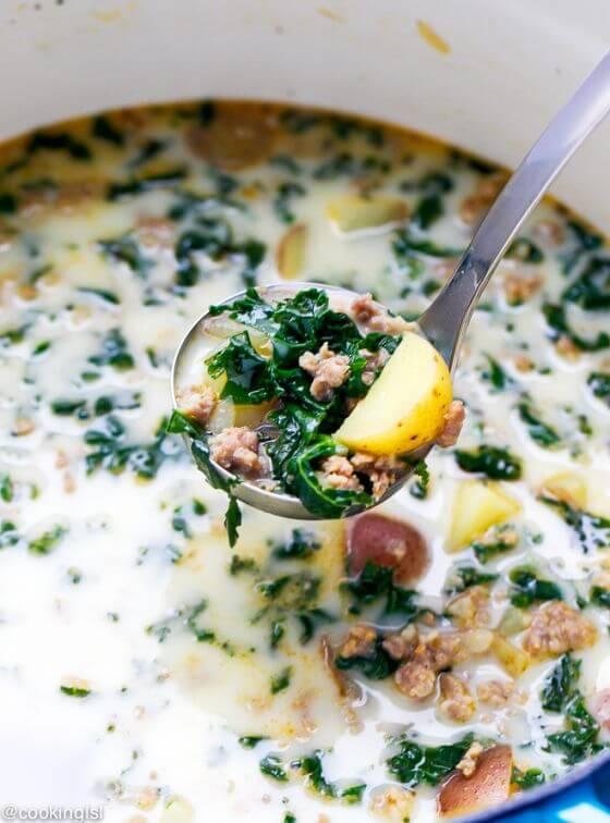 Sausage Kale Soup 5 1