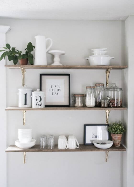 Scandinavian Inspiration Shelving Inspired Home