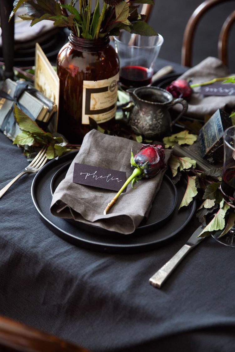 Set A Slightly Spooky Halloween Dinner Party 13