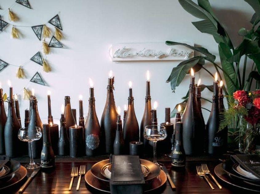 Set A Slightly Spooky Halloween Dinner Party 14