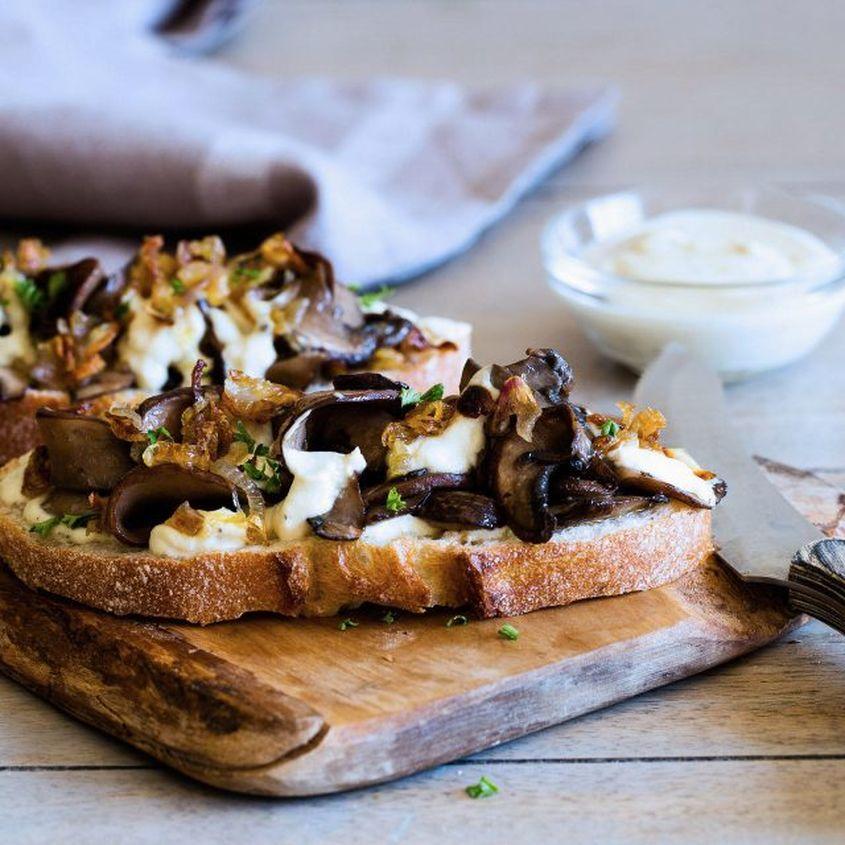 Shallot Portobello Sandwich