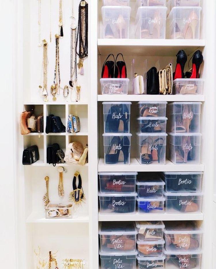Shoe Accessory Organization