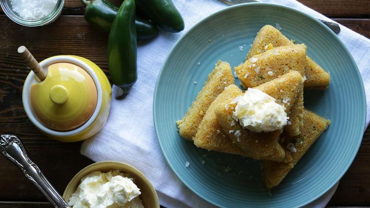 Skillet Jalapeño Cornbread Recipe