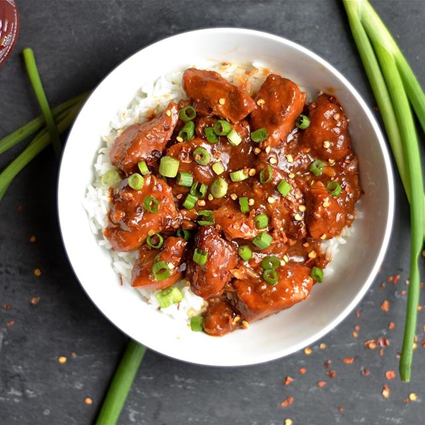 Slow Cooker General Tsos Chicken 3