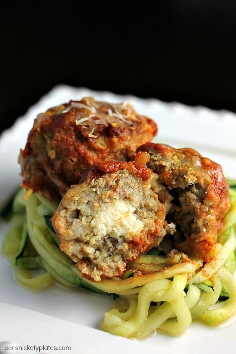 slow-cooker-turkey-meatballs-zoodles-Persnickety-Plates