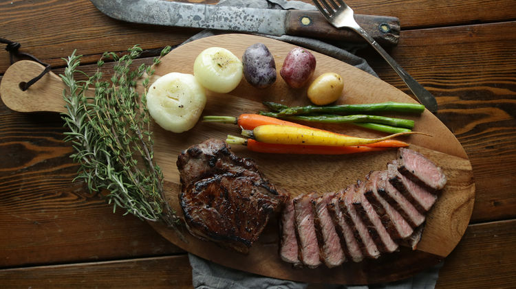 Steak Amp Veggies Sous Vide Recipe Amp Video Tutorial The